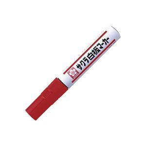 (業務用300セット) サクラクレパス ホワイトボードマーカー WBK#19 中字 赤