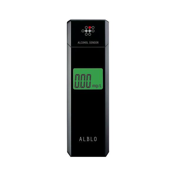 キャップを持ち上げると電源ON タニタ アルコールチェッカー メーカー公式 売買 HC-310 ブラック HC-310-BK
