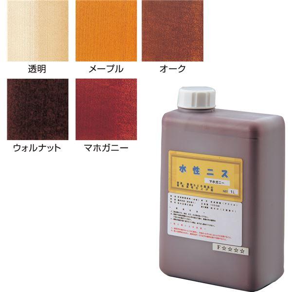 (まとめ)アーテック 水性カラーニス/木彫用品 【オーク 1L】 水洗い可 【×5セット】