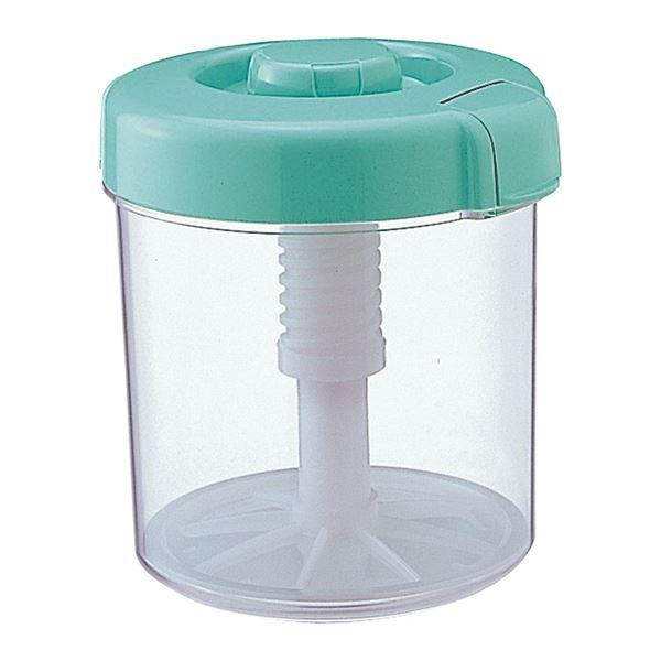 【12セット】 漬物容器/漬物用品 【R-40 グリーン】 新ハイペット 〔キッチン用品 家庭用品 手づくり〕【代引不可】