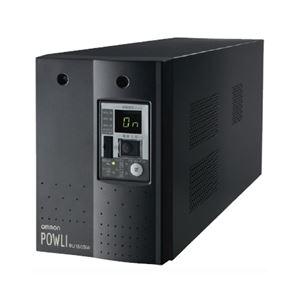 オムロン 無停電電源装置(常時インバータ給電) 1500VA/1050W:縦置 BU150SW
