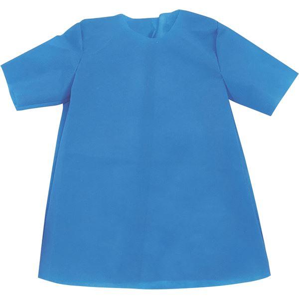 (まとめ)アーテック 衣装ベース 【J シャツ】 不織布 ブルー(青) 【×30セット】