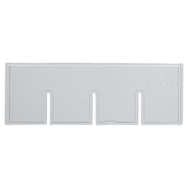 (業務用200セット) サカセ ビジネスカセッター 仕切板 A4-241用横