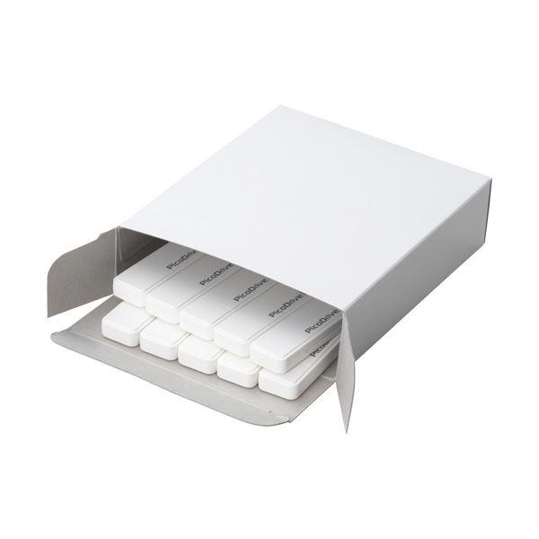 グリーンハウス USBフラッシュメモリ 64GB 10個入 型番:GH-UFD64GN10