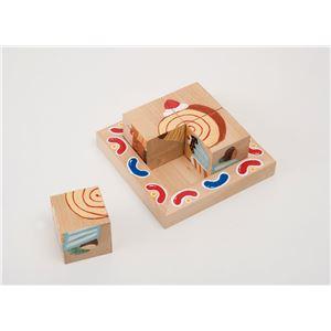 【ポイント10倍】(まとめ)アーテック かんたんキュービックパズル 【×10セット】