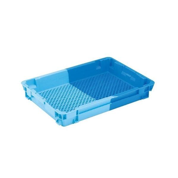 【5個セット】 業務用コンテナボックス/食品用コンテナー 【NF-M17】 ダークブルー/ブルー 材質:PP【代引不可】