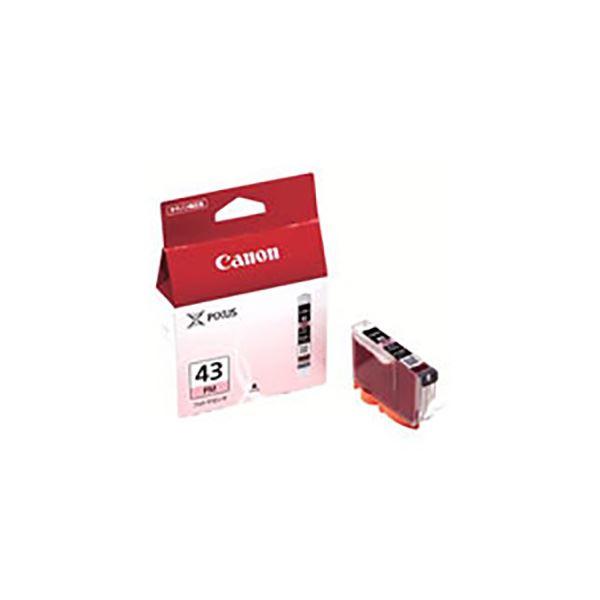 (業務用5セット) 【純正品】 Canon キャノン インクカートリッジ/トナーカートリッジ 【6381B001 BCI-43PM フォトマゼンタ】
