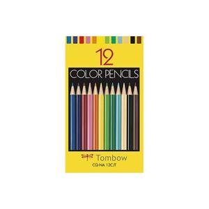 【スーパーSALE限定価格】(業務用50セット) トンボ鉛筆 色鉛筆紙箱CQ-NA12CJT 12色