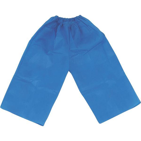 (まとめ)アーテック 衣装ベース 【J ズボン】 不織布 ブルー(青) 【×30セット】