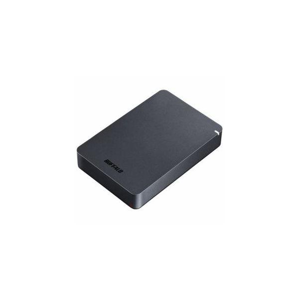 BUFFALO ポータブルHDD ブラック 4TB HD-PGF4.0U3-GBKA