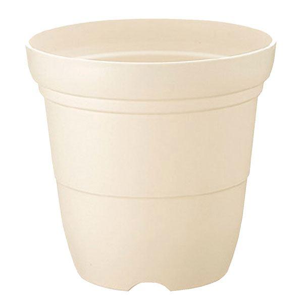 (まとめ) プラスチック製 植木鉢/ポット 【長鉢 ホワイト 9号】 ガーデニング 園芸 『カラーバリエ』 【×30個セット】