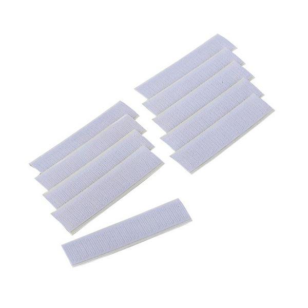 (まとめ) エレコム モール用マジックステッカー 幅2cm 長さ10cm LD-20MS 1セット(10枚) 【×10セット】