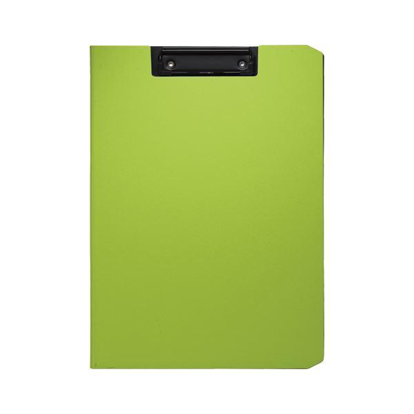 (まとめ) ソニック クリップファイル ソフィット A4タテ グリーン【×20セット】