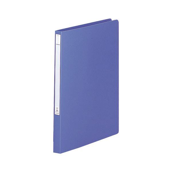 (まとめ) リヒトラブパンチレスファイル(HEAVY DUTY) B4タテ 160枚収容 背幅25mm 藍 F-368-9 1冊 【×30セット】