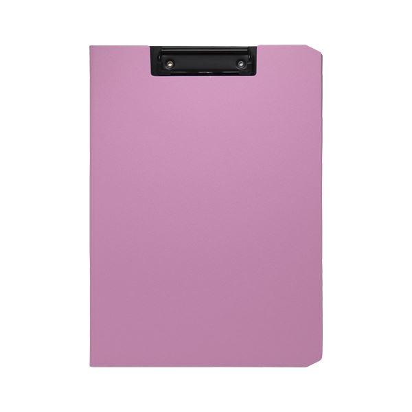 (まとめ) ソニック クリップファイル ソフィット A4タテ ピンク【×20セット】