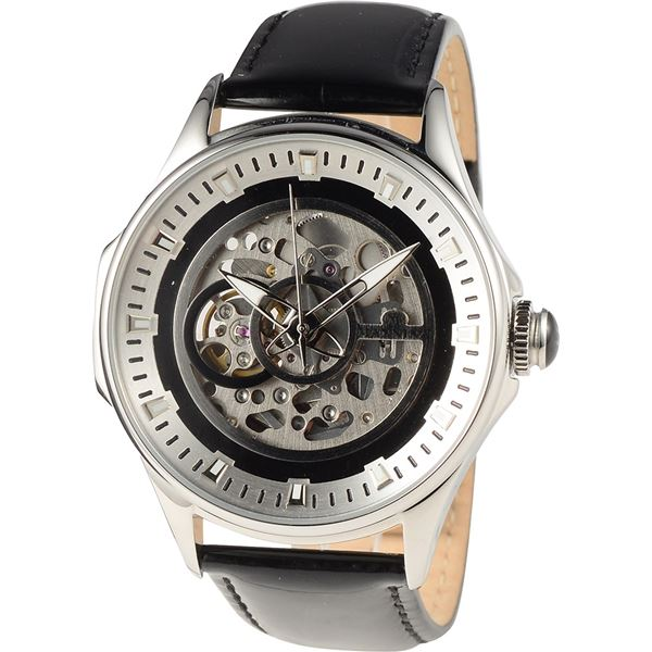 MANNINA(マンニーナ) 腕時計 MNN005-01 メンズ 正規輸入品 ブラック