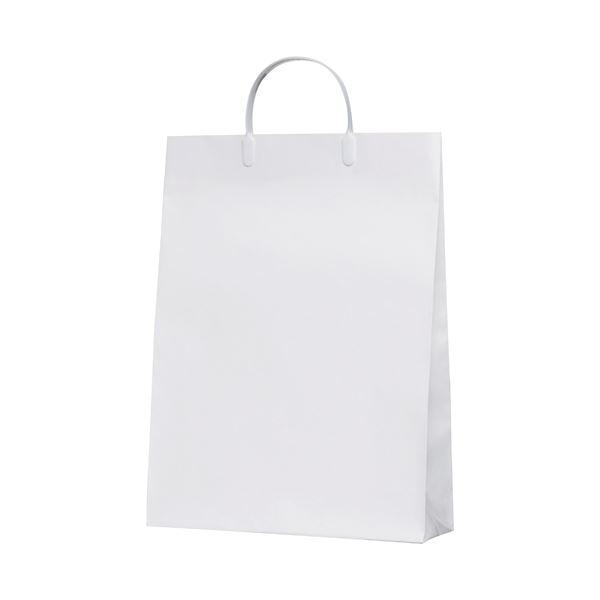 (まとめ)今村紙工 白コーティングバック10枚KWCB-03【×30セット】