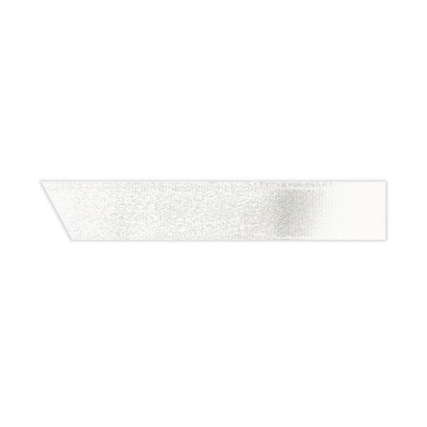 (まとめ) ヘッズ 片面サテンリボン 幅10mm×30m ホワイト 1050R 1巻 【×30セット】