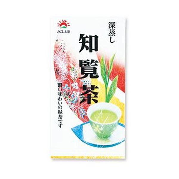 (まとめ)小野園 深蒸し 知覧茶 100g 1袋【×20セット】