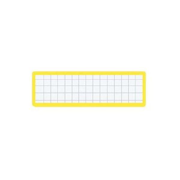 (まとめ)コクヨ マグネット見出し 19×75mm黄 マク-402Y 1セット(10個)【×10セット】