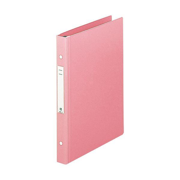 (まとめ) リヒトラブメディカルサポートブック・スタンダード A4タテ 2穴 180枚収容 ピンク HB656-5 1冊 【×10セット】