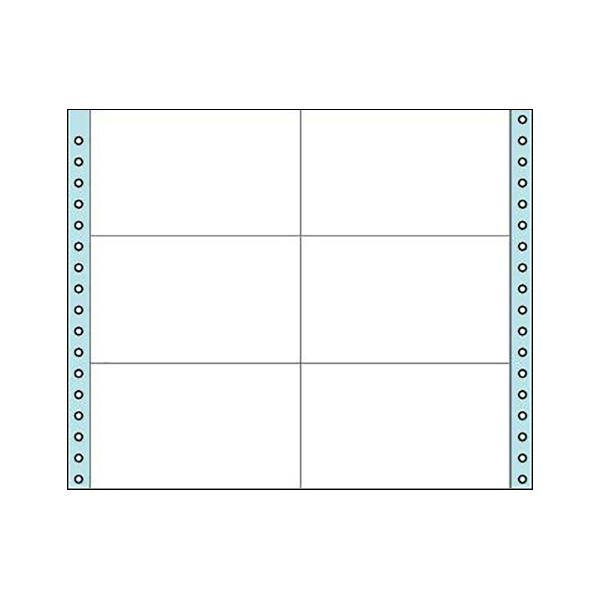 コクヨ 連続伝票用紙(タックフォーム)横11×縦9インチ(279.4×228.6mm)6片 ECL-429 1箱(500シート)
