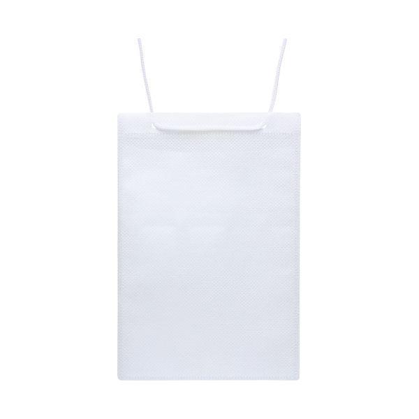 (まとめ)ソニック カラーイベント吊下げ名札ハガキ用 50枚 白【×10セット】