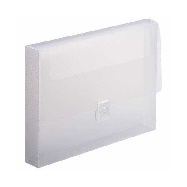 (まとめ) ライオン事務器 ハンドファイル A4背幅40mm 透明 CS-860 1冊 【×30セット】