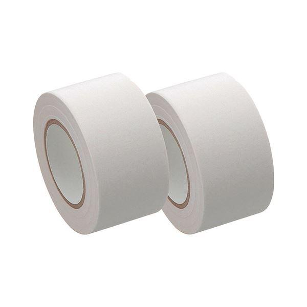 (まとめ) ヤマト メモック ロールテープ 再生紙タイプ つめかえ用 25mm幅 白 R-25H-5 1パック(2巻) 【×30セット】