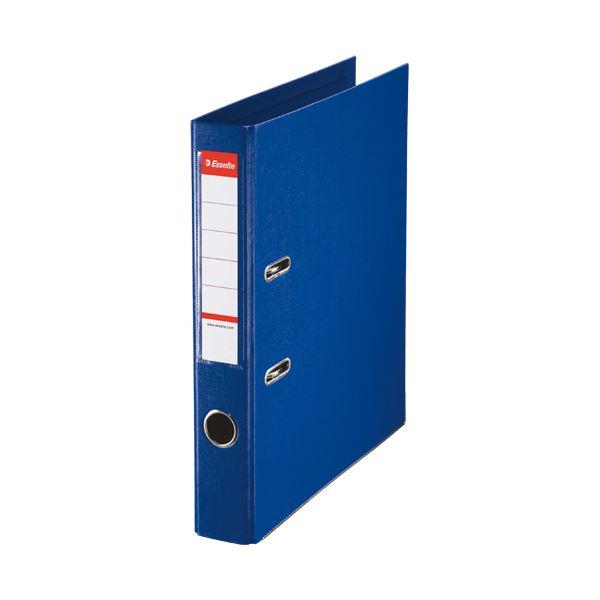 ブルー 背幅52mm 【×30セット】 48075 A4タテ350枚収容 レバーアーチファイル 1冊 エセルテ (まとめ)