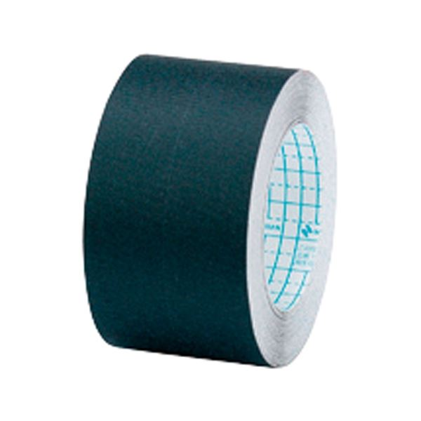 (まとめ)ニチバン 製本テープ布 BK-C50 黒 50mm(×10セット)