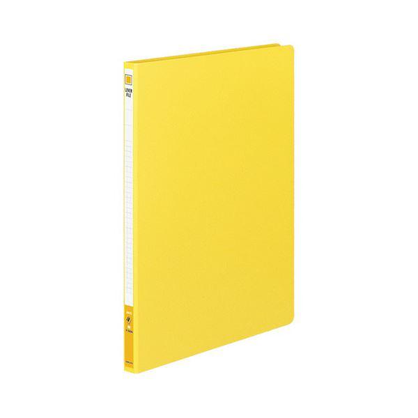 (まとめ) コクヨ レバーファイル(MZ) A4タテ100枚収容 背幅20mm 黄 フ-300NY 1セット(10冊) 【×5セット】