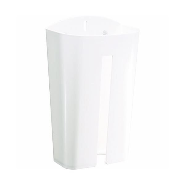 (まとめ)TRUSCO ウエスケース(マグネット2枚・吸盤3個付)ホワイト WSK-W 1個【×10セット】