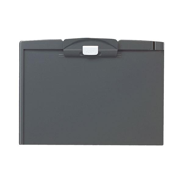 (まとめ)コクヨ クリップボードH A4ヨコダークグレー ヨハ-H73NDM 1セット(10枚)【×3セット】