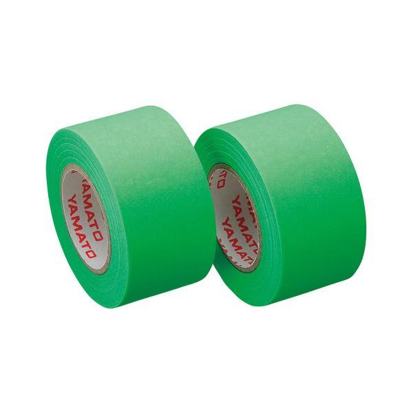 (まとめ) ヤマト メモック ロールテープ つめかえ用 25mm幅 ライム WR-25H-LI 1パック(2巻) 【×30セット】