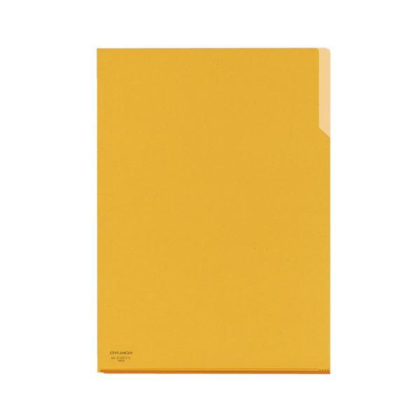 コクヨ クリヤーホルダー10(テン)A4 黄 フ-T750-2 1セット(200枚)