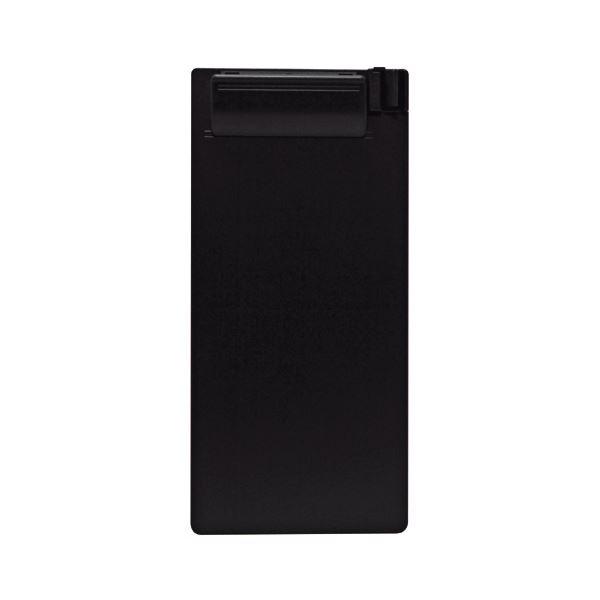 (まとめ)セキセイ クリップボード 伝票サイズタテ SSS-2059P-60ブラック 1セット(20枚)【×3セット】