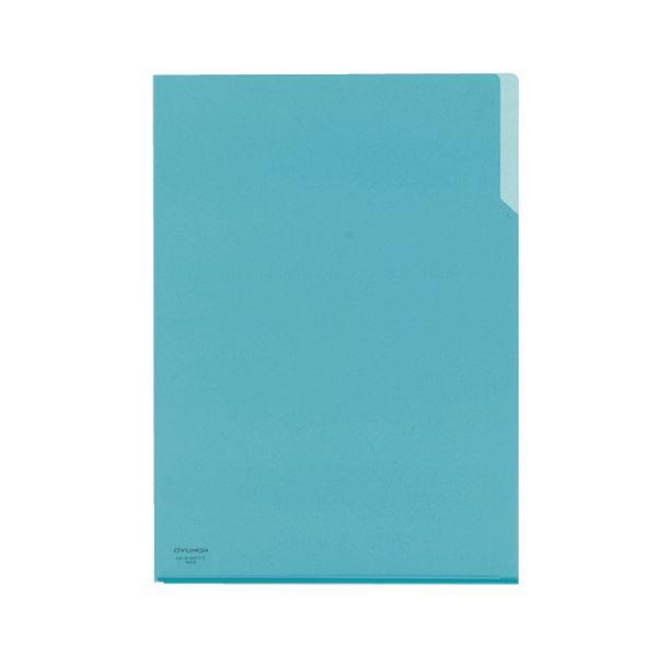 コクヨ クリヤーホルダー10(テン)A4 青 フ-T750-6 1セット(200枚)