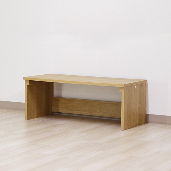 デスク ナチュラル 幅90cm ロー タイプ 日本製 木製 シンプル コンパクト 在宅 テレ ワーク オフィス 勉強 机【代引不可】