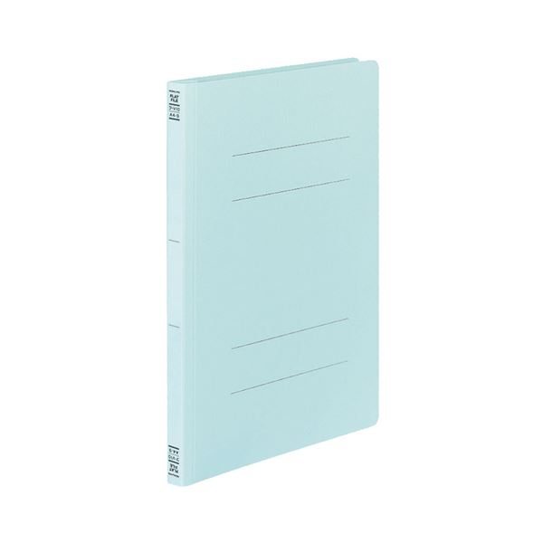 (まとめ) コクヨ フラットファイルV(樹脂製とじ具) A4タテ 150枚収容 背幅18mm 青 フ-V10B 1セット(30冊:10冊×3パック) 【×5セット】