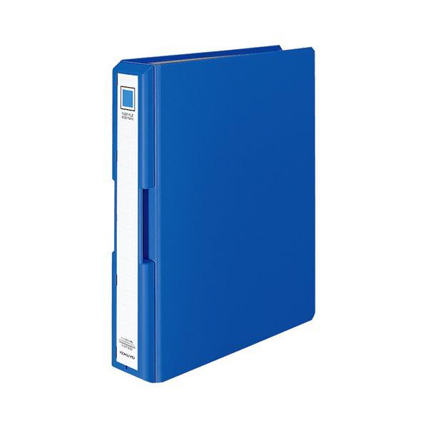 (まとめ) コクヨ 取っ手付きチューブファイル(エコツイン) A4タテ 500枚収容 背幅65mm 青 フ-UT1650B 1冊 【×10セット】