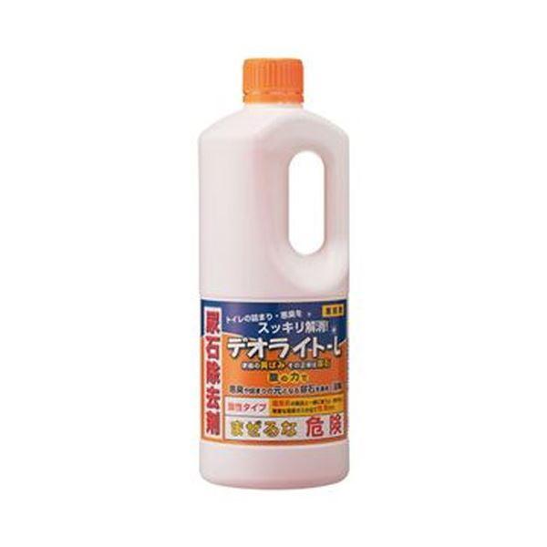 (まとめ)和協産業 業務用尿石除去剤 デオライトL1kg 1本【×10セット】