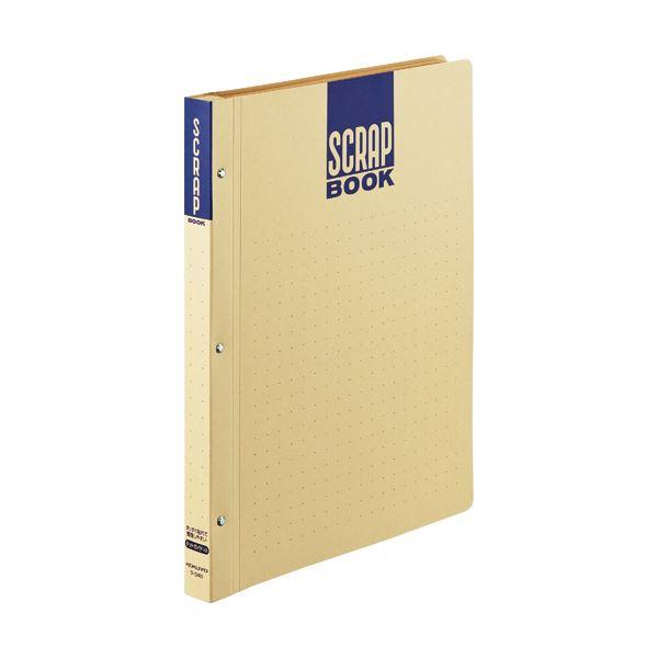 (まとめ)コクヨスクラップブックD(とじ込み式・ドットガイド入り) A4 中紙28枚 背幅25mm クラフト ラ-D40 1冊 【×20セット】