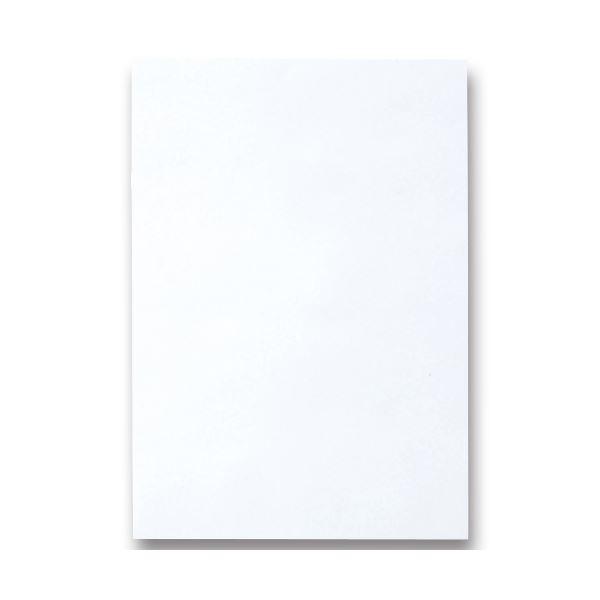 (まとめ) TANOSEE 色画用紙 四つ切 ゆき 1パック(10枚) 【×30セット】