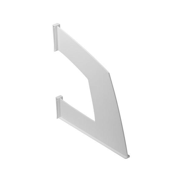 (まとめ) ソニック 仕切板 タテ型ファイルボックス用 ホワイト FB-756-W 1枚 【×50セット】