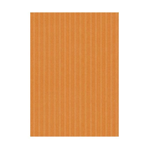 (まとめ) ヒサゴ リップルボード 薄口 A4オレンジ RBU06A4 1パック(3枚) 【×30セット】