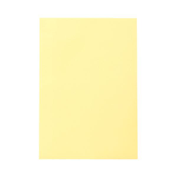 (まとめ) TANOSEE 色画用紙 四つ切 クリーム 1パック(10枚) 【×30セット】