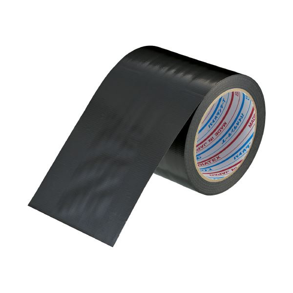 (まとめ)ダイヤテックス 仮設コード固定用テープ 100mmX20m(×10セット)