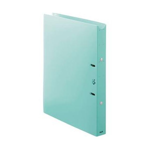 (まとめ)プラス たすけあ 利用者カルテリングファイル 厚幅 A4タテ 背幅33mm ブルー FL-808RF-BL 1冊【×20セット】