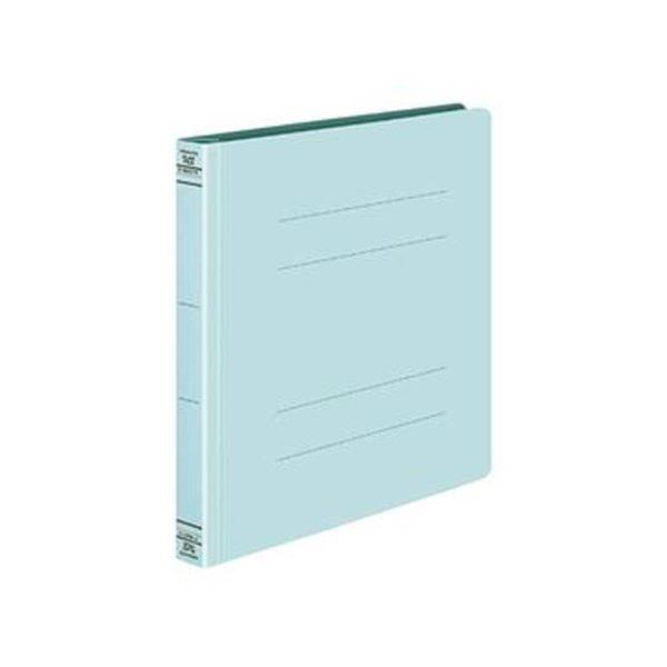 (まとめ)コクヨ フラットファイルW(厚とじ)マニュフェスト伝票サイズ 250枚収容 背幅28mm 青 フ-W47NB 1セット(10冊)【×10セット】
